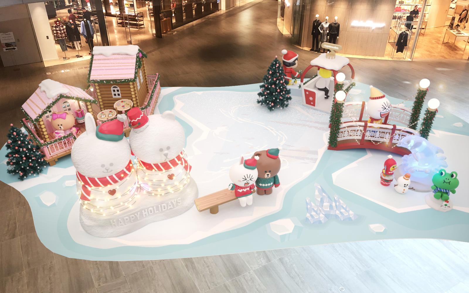 CHRISTMAS DECORATIONS AT NINA MALL